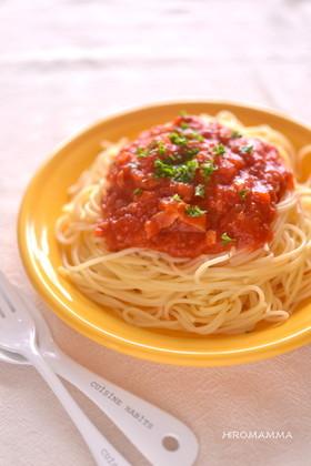 基本のトマトパスタソース