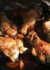 鳥手羽先のトマトケチャップ煮