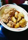 海老芋と真鱈の真子の煮付け~鱈の子~