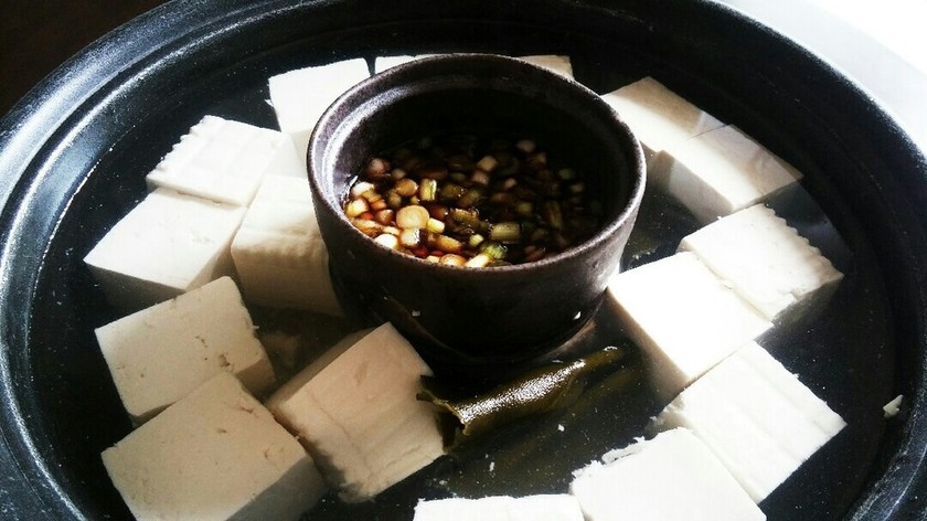 身体の芯からポカポカになる♡湯豆腐