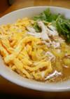 鶏茶漬け(奄美の鶏飯風)
