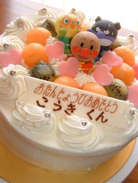 アンパンマン☆バースデーケーキ