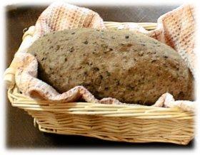 ▼◆黒ゴマとチーズの全粒粉パン◆▼