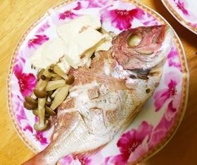 簡単!楽チン!鯛の酒蒸し