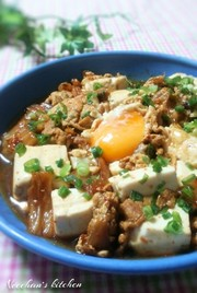 甘辛で旨辛!豆腐と豚のおつまみチゲの写真