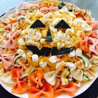 かぼちゃと柿のヨーグルトフルーツサラダ