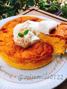 お砂糖なし南瓜のヨーグルトケーキ(動画有