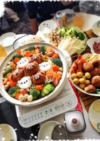 リラックマカレー鍋♡