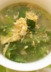 ダシダで簡単たまごレタススープ