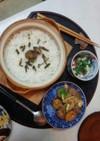 山かけ豚煮粥定食(血管ダイエット981)