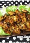 ポン酢と中濃ソースde鶏胸肉の照り焼き