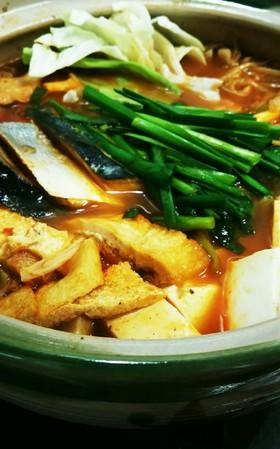 市販の鍋つゆで簡単!絶対ハマるぶりチゲ鍋