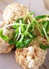 簡単ヘルシー★レンジでカニと豆腐の焼売風