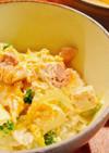 豆腐でカサ増し!節約♪味醂で優しい親子丼