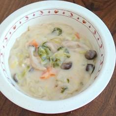 わける派★野菜たっぷり豆乳味噌シチュー
