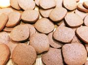 アイスボックスクッキー(ココア)の写真