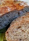 キタノカオリ全粒粉ライ麦50%田舎パン