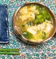 包丁使わず5分で♪簡単ふわふわ春雨スープの写真