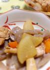照り大根と鶏もも肉の簡単フライパンで煮物