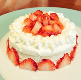 時短で安心!*子供用ケーキ*