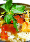 ◆ダシの旨味♪鮭とイクラの炊き込みご飯◆