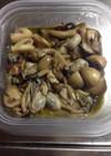 牡蠣とキノコのオイルマリネ♬
