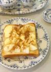 アップルパイみたいなトースト