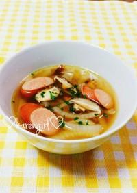 ♡ウィンナー&玉ねぎのスープ♡