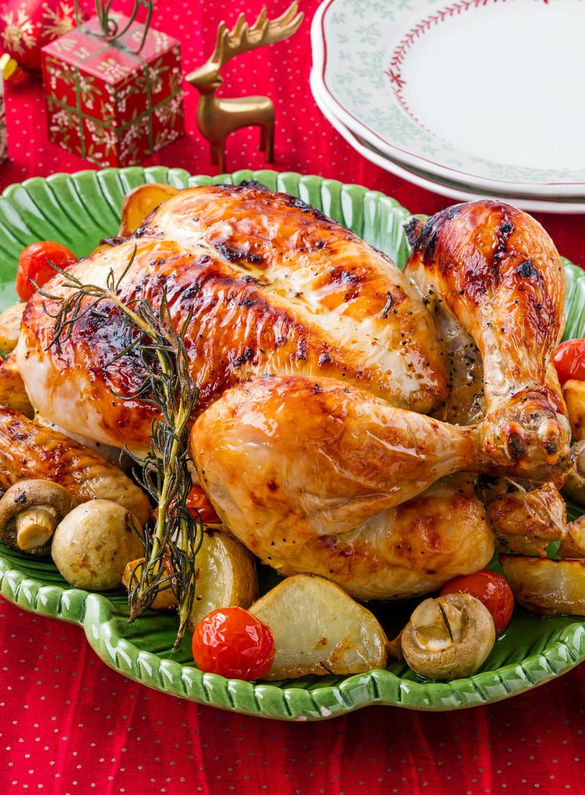 クリスマス♪丸鶏ローストチキン