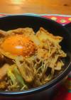フライパンでお手軽♡鶏すき風煮炒め♡