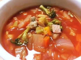 栄養満点!野菜たっぷりトマトスープ