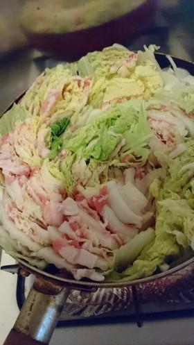 簡単!白菜と豚肉のミルフィーユ鍋