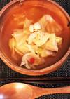 簡単!冷凍トマトスープ…鍋?