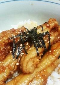 太刀魚の簡単レシピ♪蒲焼き丼