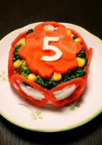 【簡単オーブン不使用】犬用お誕生日ケーキ