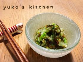 もずく酢と白菜の酢の物☆簡単副菜