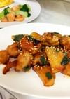 お弁当に★大葉とポテトの照り焼きチキン