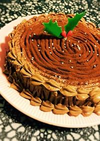 糖質制限◆クリスマスにブッシュドノエル