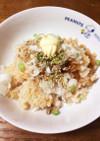 簡単☆鮭の炊き込みご飯☆ガーリックバター