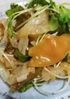 箸休めに簡単!ザーサイと塩クラゲの和え物