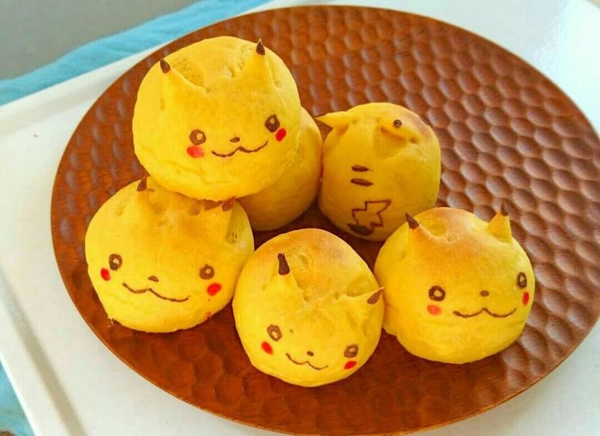 ハロウィン☆ピカチュウ☆かぼちゃパン