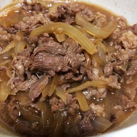 牛丼&肉うどんに☆牛肉と玉ねぎの甘辛煮