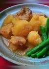 焼き鳥とじゃがいもの甘味噌煮っころがし