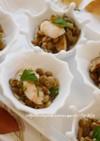レンズ豆と茸のマリネ