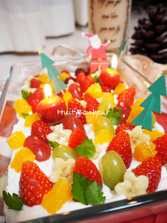スコップクリスマスケーキ