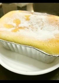 三つの材料でミニチーズケーキ!粉類なし