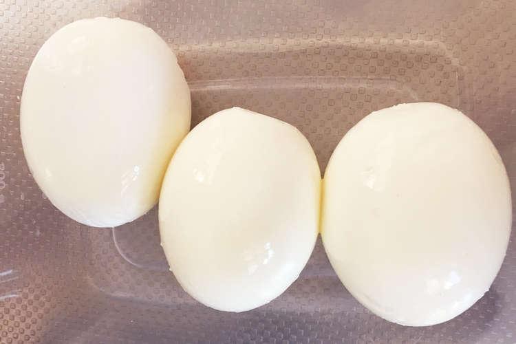 卵 簡単 ゆで 殻 むき