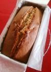 トイロさんレシピのパウンドケーキ