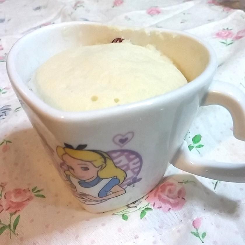 小さめ*マグカップケーキ/HM、卵不使用