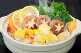 さっぱり☆鶏つくねのゆず塩鍋